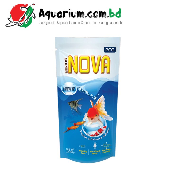 Super Nova- Aquarium Fish Food(100g)