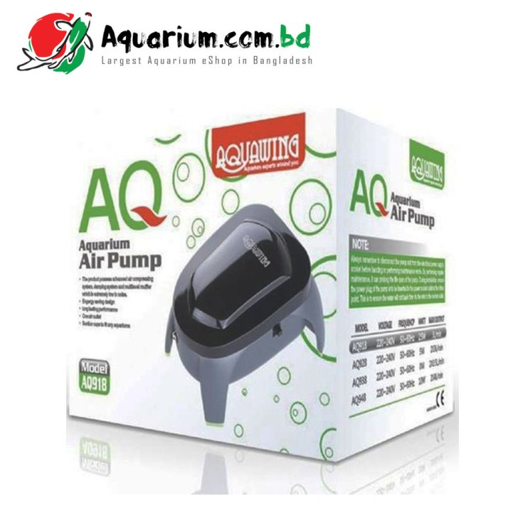 AquaWing- Aquarium Air Pump(Model: AQ918)