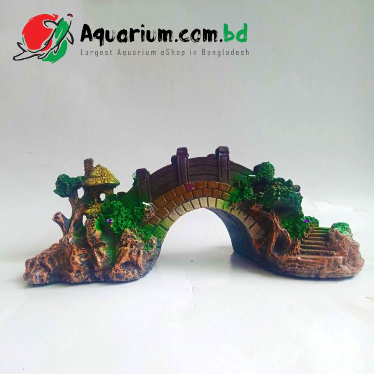Artificial Bridge- Aquarium Decoration