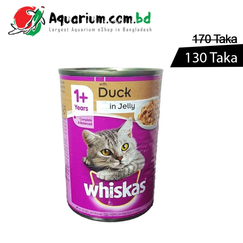 WHISKAS-1-Years-Can-with-Duck-in-Jelly390g