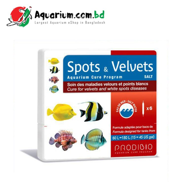 Spots & Velvets Salt- Cure for velvets and spots diseases for salt water fish
