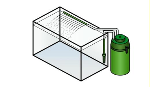 """水草インテリアと大型水槽ならコレ。""""外部設置フィルター"""""""