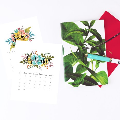Calendar and Planners