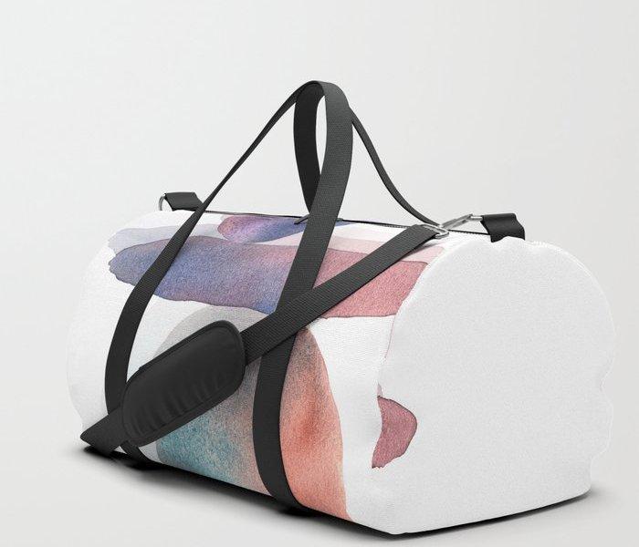 watercolor-pebbles-balance-duffle-bags