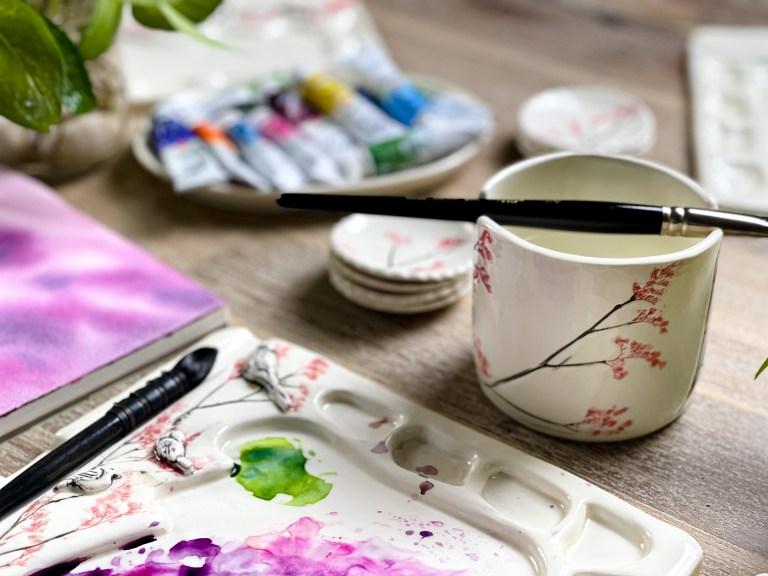 watercolor tools