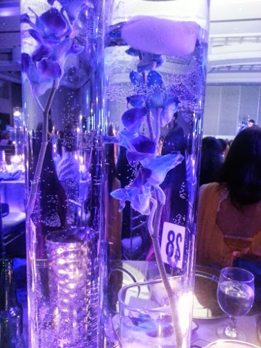 The centrepieces at my table. I would totally use this same concept for my own wedding one day.