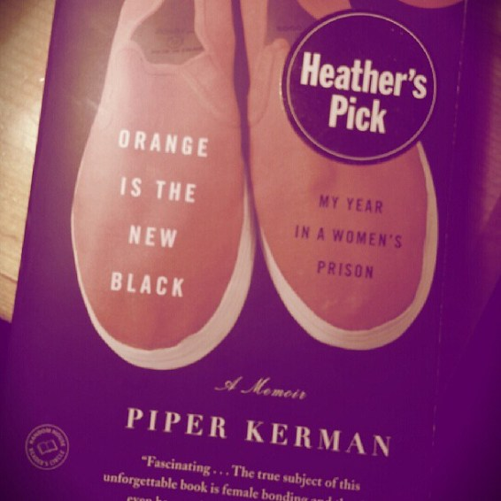I finished reading Orange is the New Black by Piper Kerman last week. I then let a friend of mine borrow the book. We both agree that it's a little too sugar coated.
