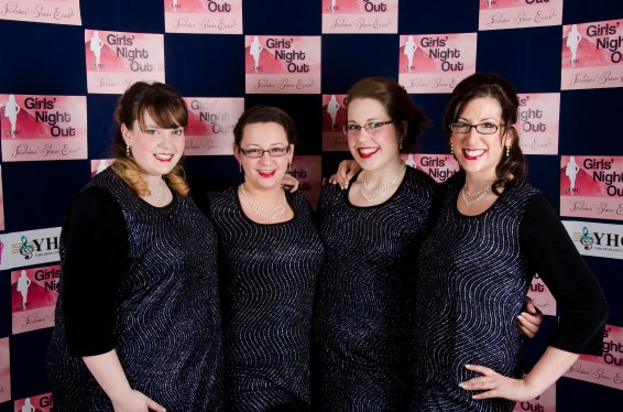The YHC at our chorus' Fashion Show.