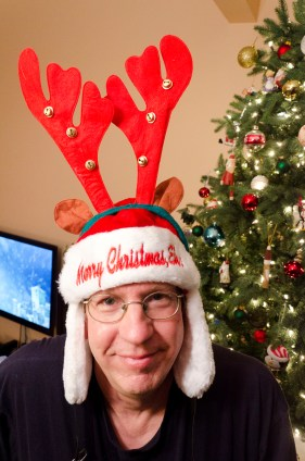 Did I mention we have some crazy Christmas hats?