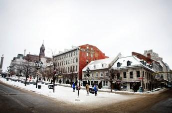 Place Jacques-Cartier in Old Montréal.