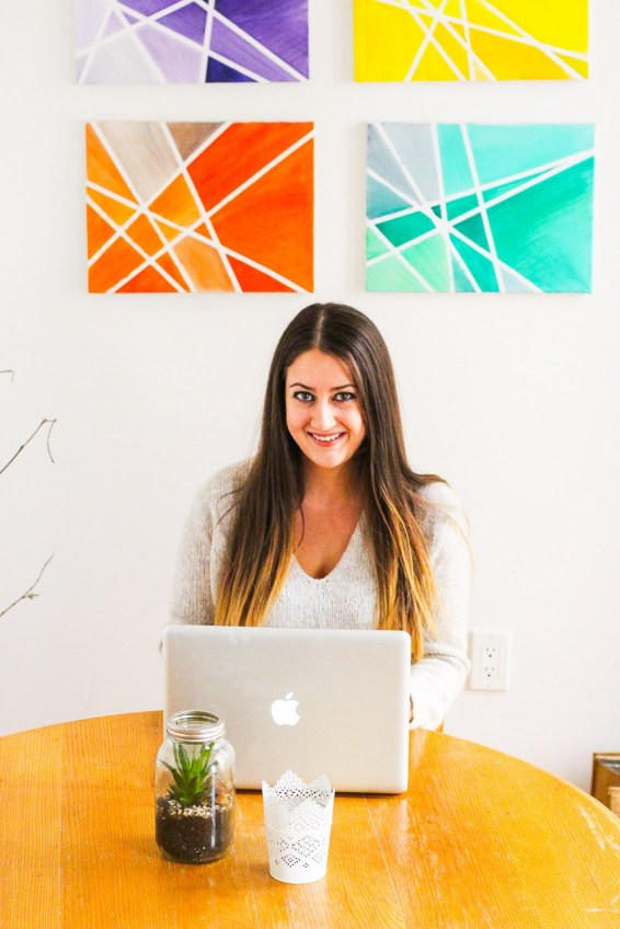Taylor Stinson is the founder and editor of The Girl on Bloor. Photo courtesy of: Taylor Stinson.