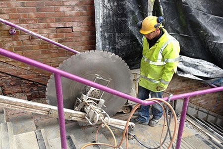 Concrete coring and cutting
