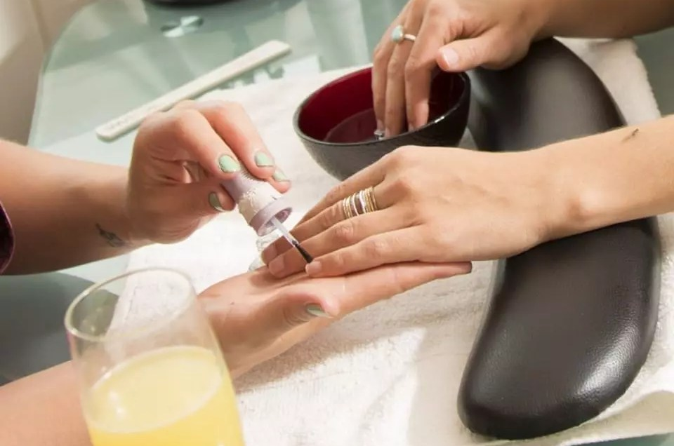 Mani Pedi at AQUA Spa Duck NC