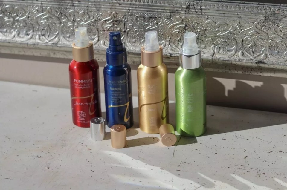 jane iredale Hydrating Products at AQUA Spa