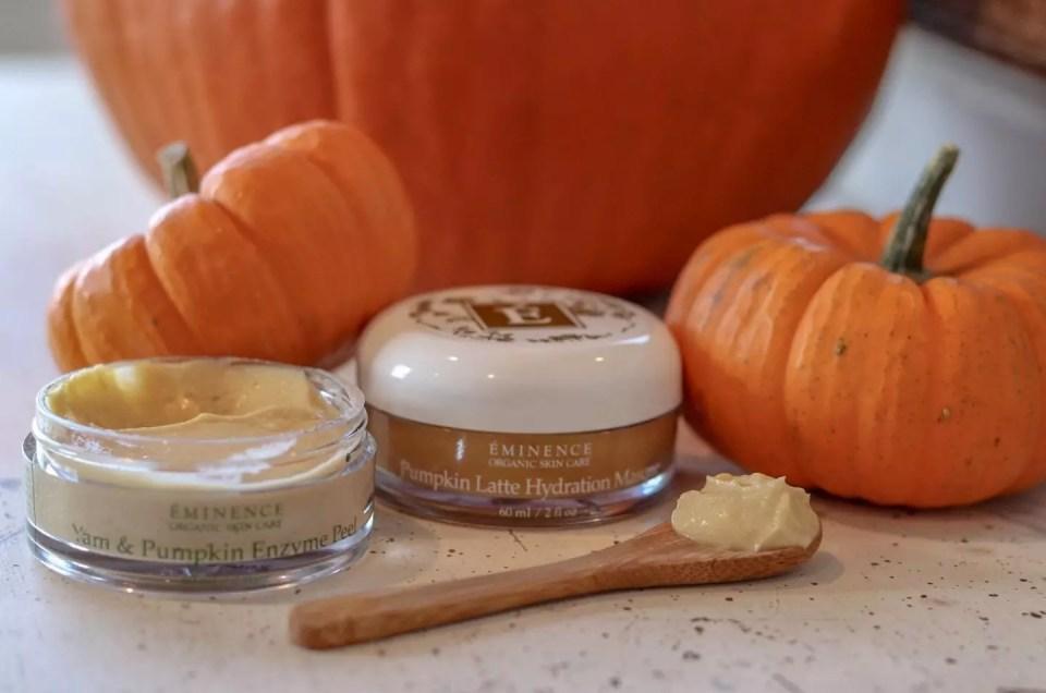 Eminence Pumpkin Pulp AQUA Spa Custom Facial