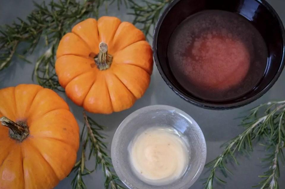Rosemary Pumpkin Facial for Fall at AQUA Spa