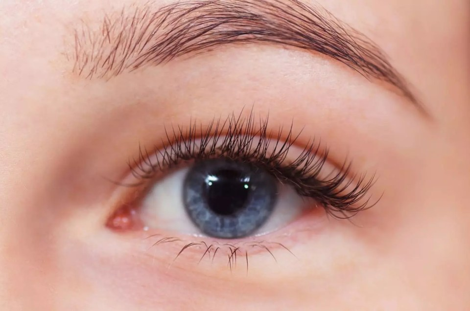 Eyelash Extensions available at AQUA Spa