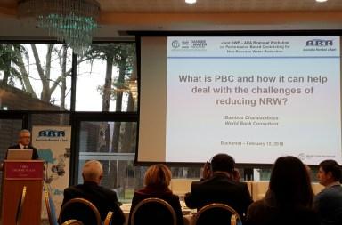 Workshop despre pierderile de apă, organizat de Banca Mondială