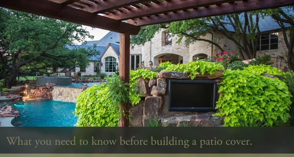 3 things you need to know before building a patio cover