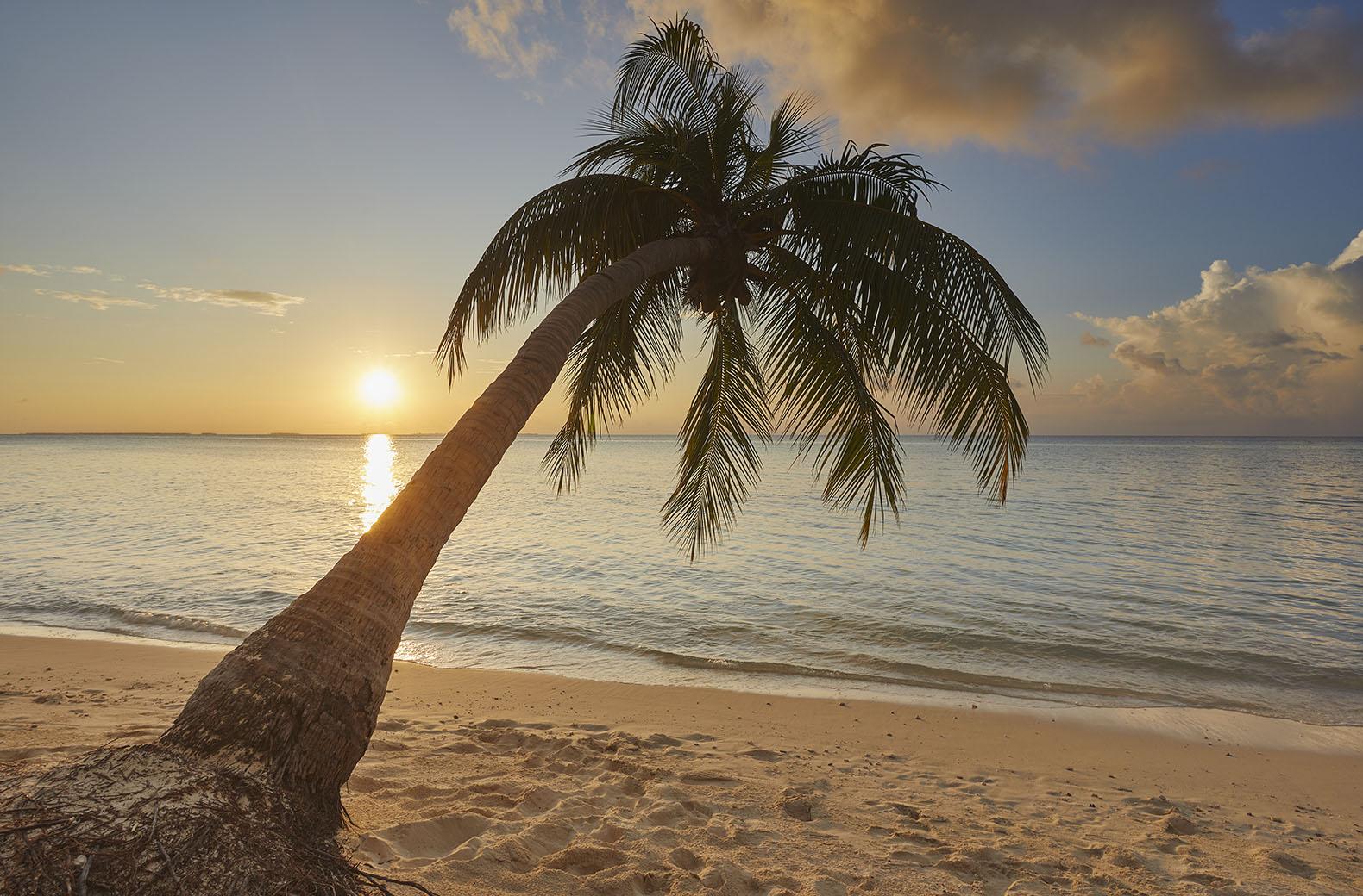 Maldives Sunset print