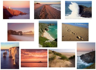 Southwest Coasts greetings cards multicard pack