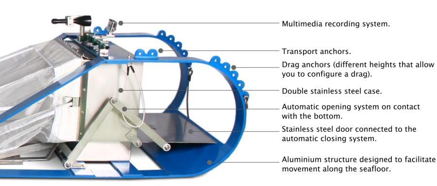 Epibenthic sledge tech specs