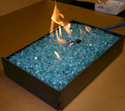Propane burners for fireplace and fire pits Fire Glass Fireglass Fireplace and Fire Pit fire glas