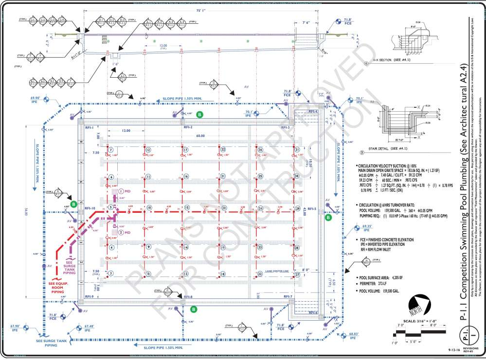 medium resolution of preliminary p 1 1 competition pool piping layout