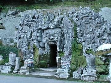Ubud Goa Gajah nebo též sloní jeskyně