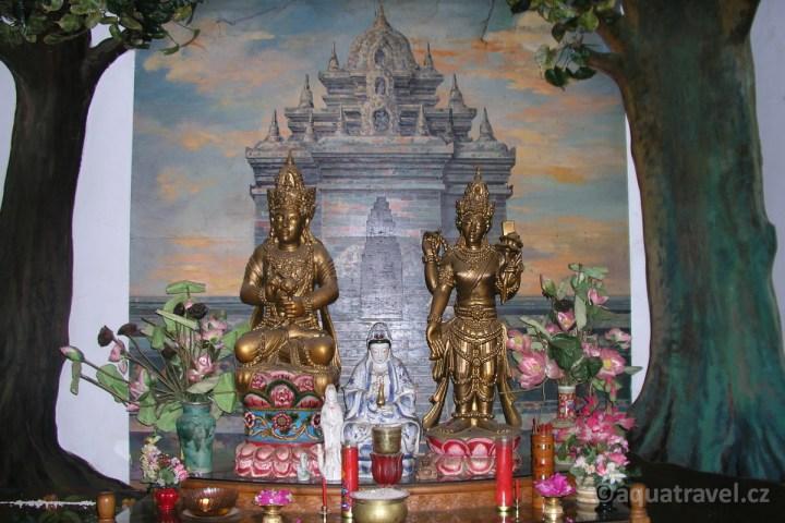 Budhistická stúpa Brahma Asrama Vihara