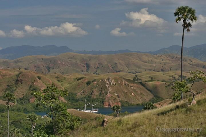 Ostrov Rinca NP Komodo