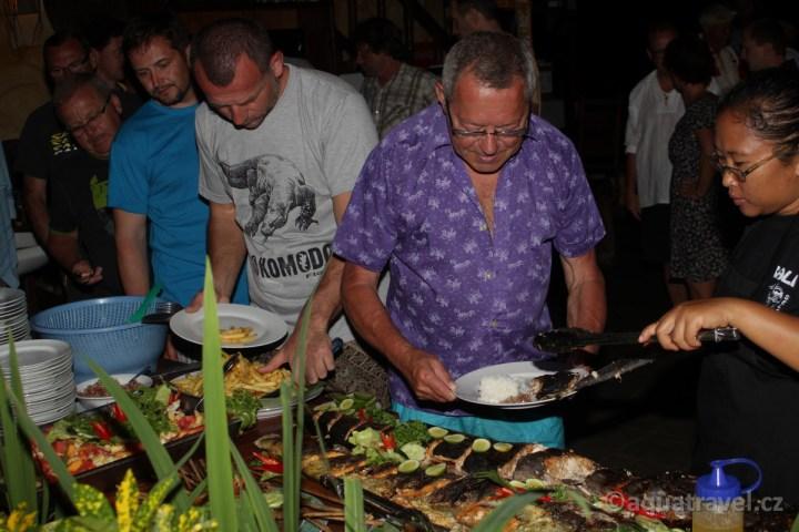 Večeře v Selang resort