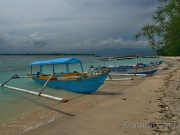 Trawangan pláž