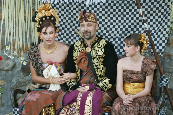Svatba na Bali v českém hotelu Selang resort