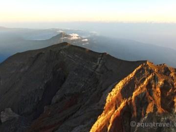 Pohled k sopce Batur
