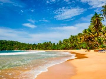 Pláž Unawatuna u Kandy