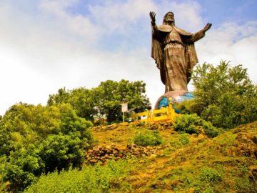 Socha Cristo Rei nad Dili