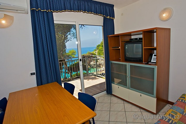 Verudela Beach pohled z apartmánu