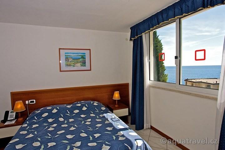 Verudela Beach ložnice