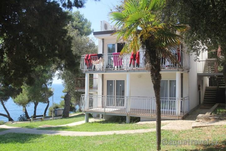 Potapění v Chorvatsku ubytování Verudela Beach