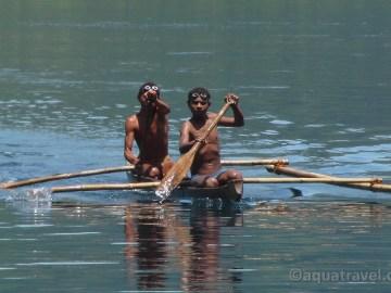 Potápěči - rybáři z Aloru