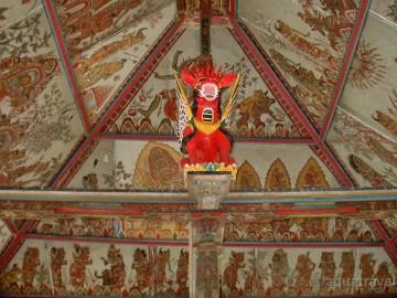 Klungkung malby z eposu Ramayana