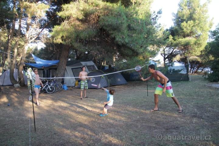 Veruda sportovní vyžití na ostrově