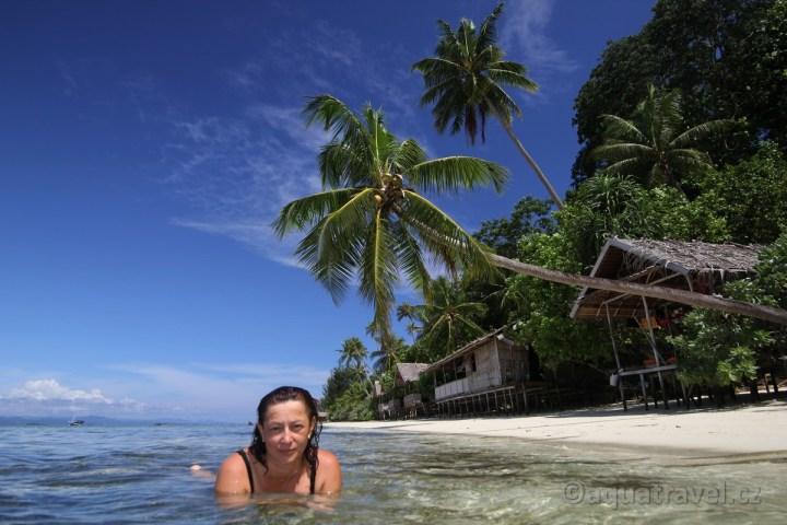 Pláž ostrova Kri