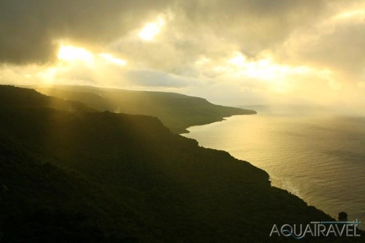Západ slunce v Tutuale