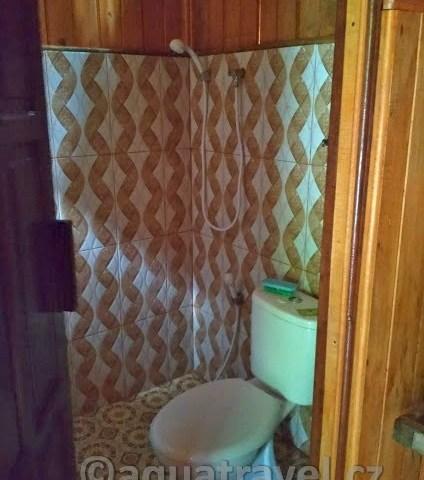 ubytování raja ampat kri wc