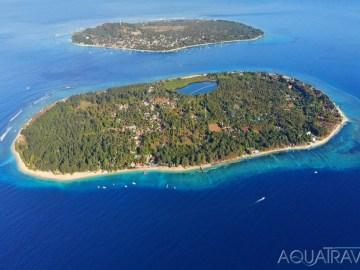 Ostrovy Gili Meno a Trawangan