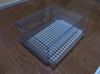 自作した引き出し式ウールボックス