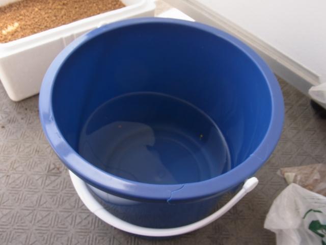 水槽の排水を使う