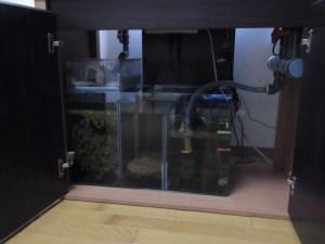自作オーバーフロー濾過システム!濾過槽のセッティング
